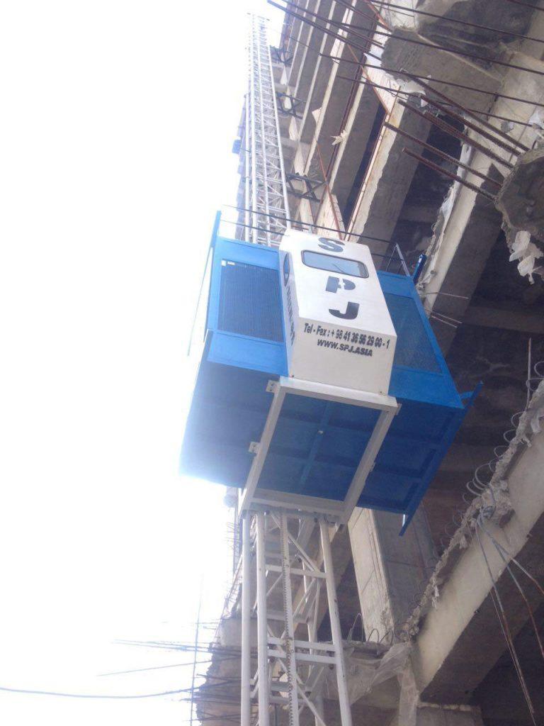 آسانسور کارگاهی spj