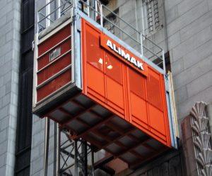 ایمنی آسانسور کارگاهی چگونه است؟