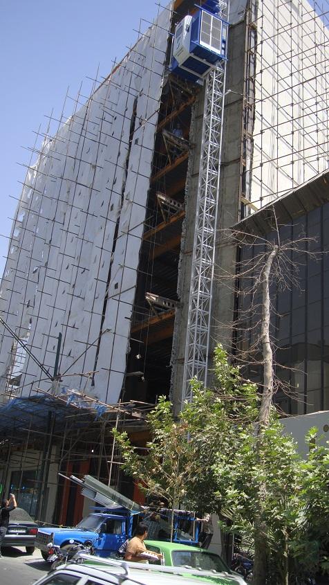 آسانسور کارگاهی ایرانی