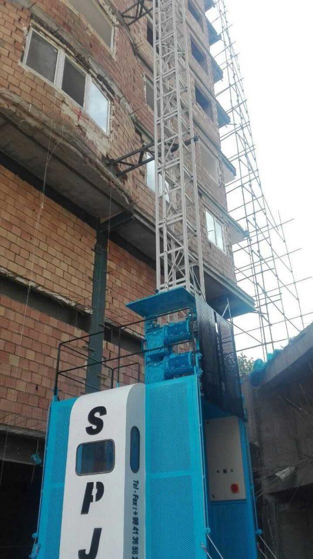 الزامات طراحی و نصب آسانسور کارگاهی